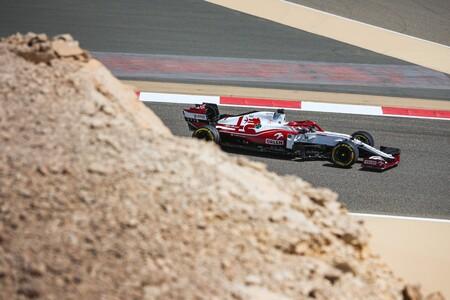 Raikkonen Sakhir F1 2021