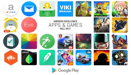 Android Excellence: las 25 aplicaciones y juegos más excelentes de este otoño según Google