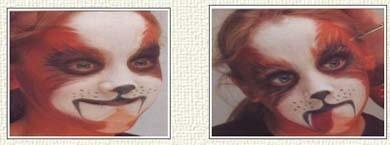 Maquillaje para niños, algunas ideas en la web