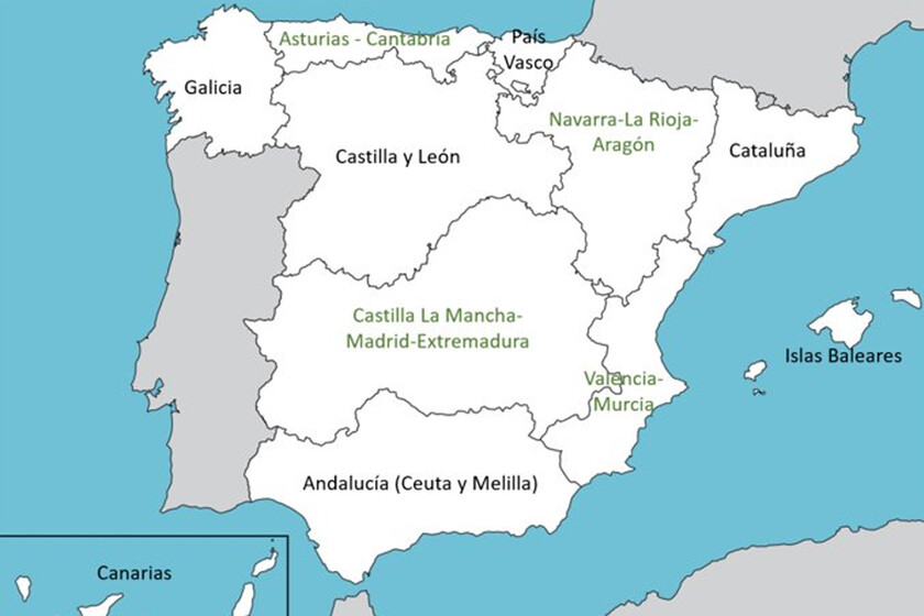 Alguien Ha Planteado Un Nuevo Mapa Territorial Para España Y Ha Logrado Enfadar A Todo El Mundo