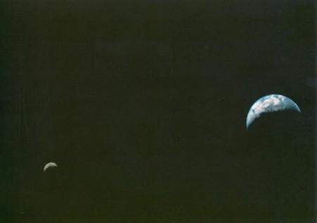 Se cumplen 41 años de la primera foto de la Tierra y la Luna en el espacio
