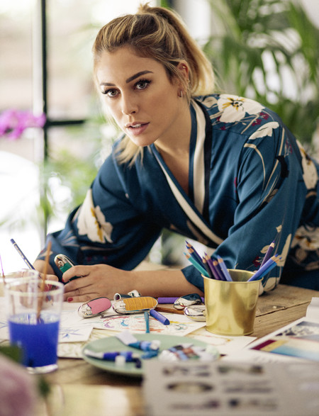 Blanca Suárez ha diseñado su propio modelo de carcasa del labial Rouge G de Guerlain