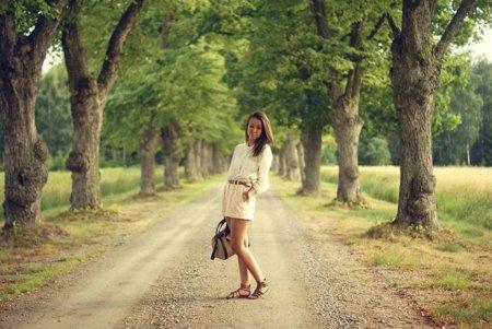 Moda en la calle: lo más difícil es ir sencilla con estilo
