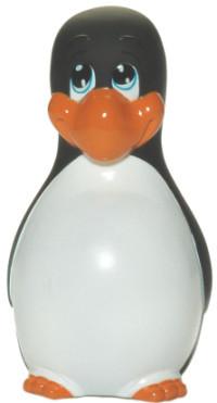 Pingüino masajeador