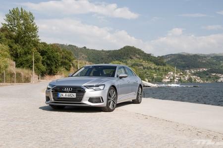 Probamos el Audi A6 2018: totalmente digital y tan cómodo como siempre, pero sorprendentemente ágil