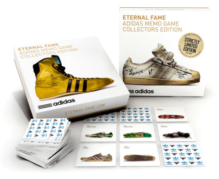 Eternal Fame, el juego de memoria de Adidas