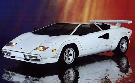 Lamborghini Countach blanco