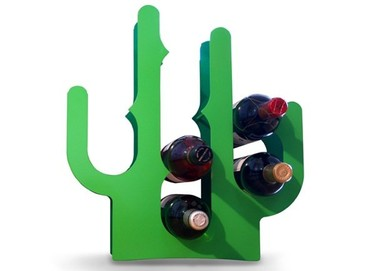 Botellero con forma de cactus