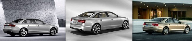 Modelos Audi