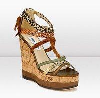 El estilo Tribal Chic en calzado femenino. Jimmy Choo Primavera/Verano 2011