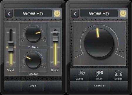 Configuración de WOW HD en MyTunes