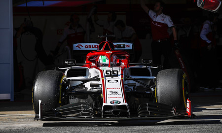 Giovinazzi Formula 1 2020