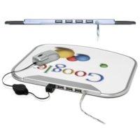 La alfombrilla de Google, con 4 puertos USB