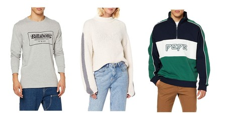 Chollos en tallas sueltas de pantalones, camisetas y sudaderas de marcas como Lee, Pepe Jeans, Billabong o Superdry en Amazon