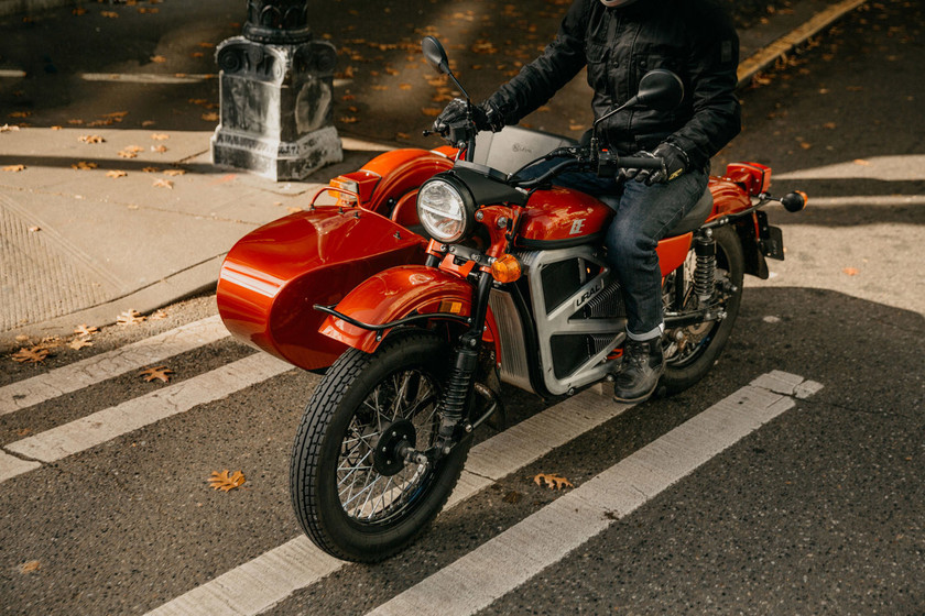 La Ural E Project es la primera moto eléctrica con sidecar, tiene 60 CV y 165 km de autonomía