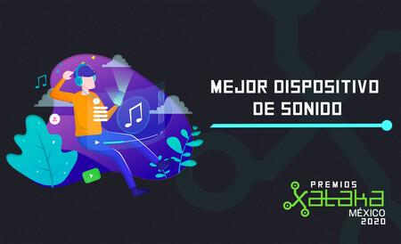 Mejor dispositivo de sonido, vota por tu favorito en los Premios Xataka México 2020