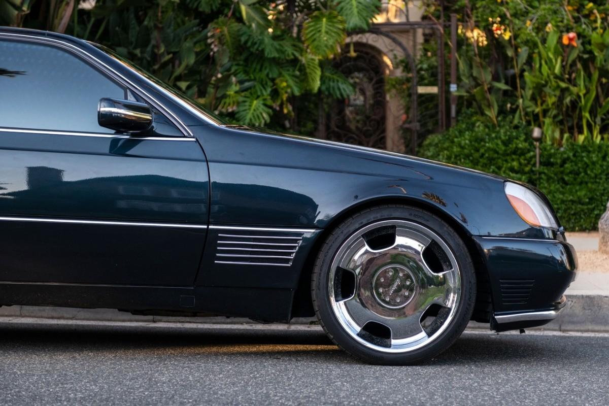 Foto de El Mercedes Benz S600 Lorinser de Michael Jordan, a subasta (7/18)