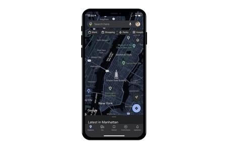 Google Maps añadirá modo oscuro casi dos años después del lanzamiento de iOS 13