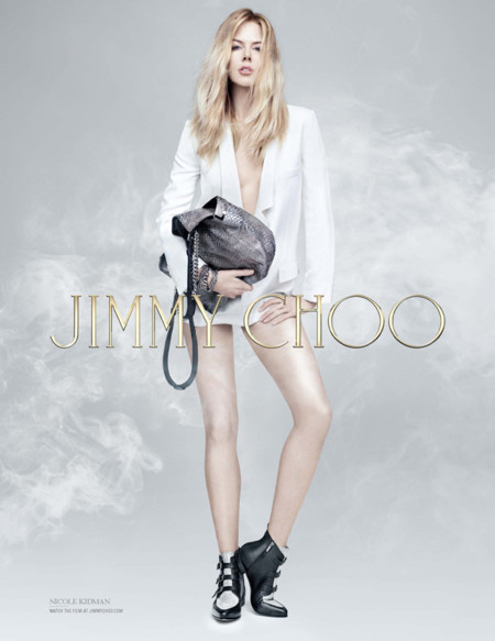 Nicole Kidman ¿o es Cristina Rosenvinge? en la nueva campaña de Jimmy Choo