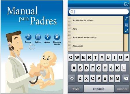 Manual para Padres: aplicación sobre pediatría para iOS