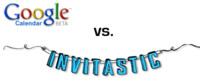 Ring 2.0: Google Calendar vs. Invitastic