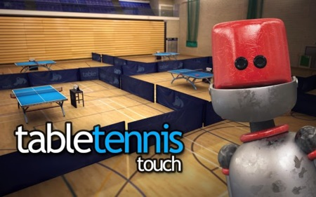 Table Tennis Touch, el mejor juego de ping pong llega a Android Lollipop
