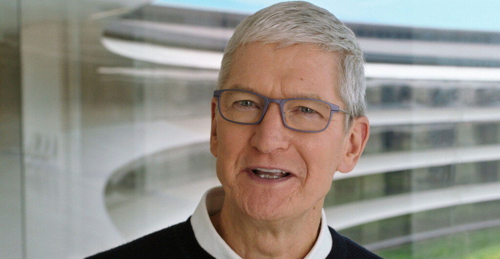 Tim Cook habla sobre Apple™ TV+, App Tracking Transparency y teletrabajo en la reunión de resultados financieros