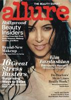 """Kim Kardashian """"natural como la vida misma"""" en Allure"""
