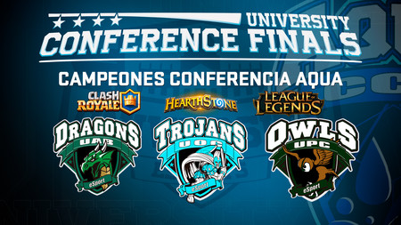 Así fueron las finales presenciales de Hearthstone, Clash Royale y League of Legends en la Conferencia AQUA de University