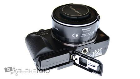 Panasonic Lumix GF5 vista batería
