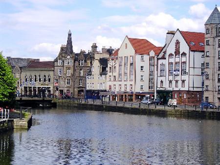 El puerto de Leith, en Edimburgo