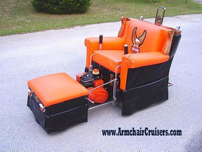 Armchair Cruisers, los autenticos sofás scooter.