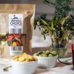 Para picar entre horas, mejor algo saludable y con estilo como los snacks de Delishop