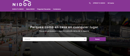 Así es Nidoo, la plataforma para conseguir parqueadero en Bogotá