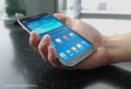 Samsung Galaxy Round, el primer teléfono con pantalla OLED curvada