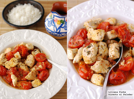 Receta de ragú de pollo a la provenzal: un plato saludable, ligero y fácil