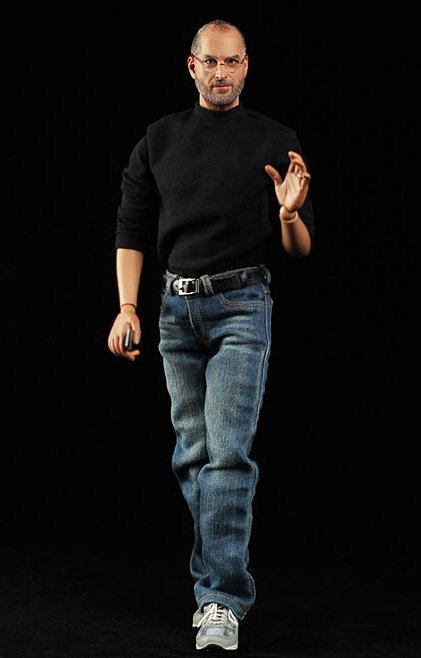 El muñeco de Steve Jobs