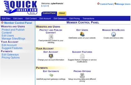 QuickInsert, protegiendo los contenidos de tu web