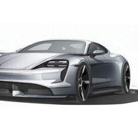 Porsche Taycan: nuevos bocetos que se acercan más a la producción final