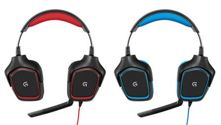 Logitech pone color a sus auriculares para juegos