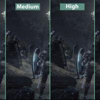 Compara tú mismo el aspecto de Dark Souls III en calidad mínima, media, alta y máxima para PC