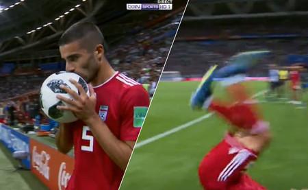 Se hace así, Mohammadi: todos los futbolistas que sí perfeccionaron el saque con voltereta