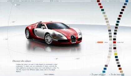 El Bugatti Veyron a tu gusto
