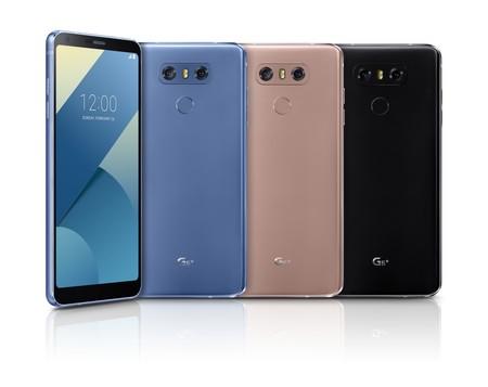 LG G6+: 6 GB de RAM y 128 GB de almacenamiento para la variante premium del estandarte coreano
