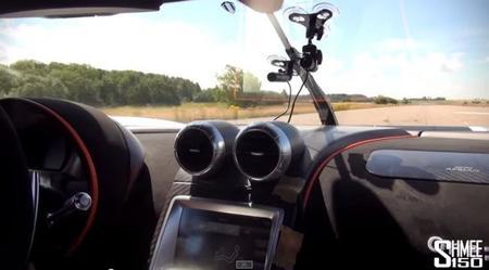 Video: Viajando de pasajero en un Koenigsegg One