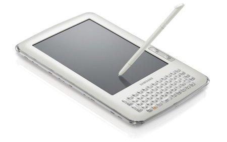 Samsung E65, un lector de libros electrónicos conectado pero no precisamente asequible
