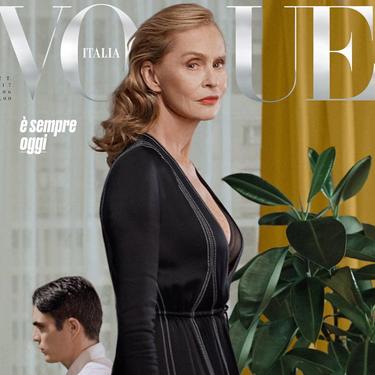 Lauren Hutton se convierte en la mujer de mayor edad en aparecer en la portada de Vogue... porque la elegancia no tiene edad
