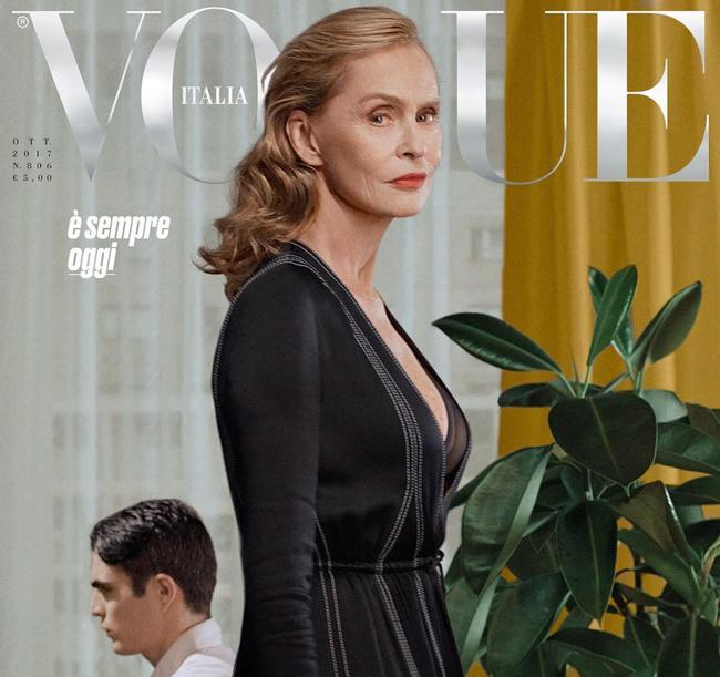 Vogue Italia Lauren Hutton