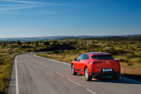 Jaguar I-PAce First Edition trasera
