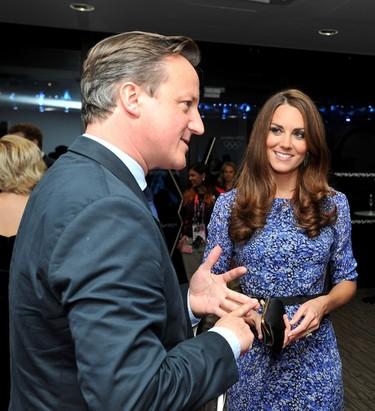 Kate Middleton, con un modelo low-cost y repetido en la ceremonia de clausura de los Juegos Olímpicos